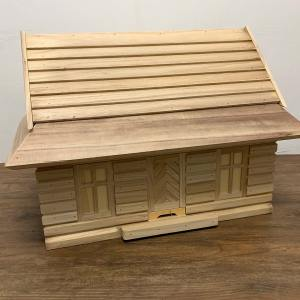 Bijenkast huismodel - demonstratiekast-1