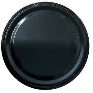 Deksel zwart - toc 82 mm