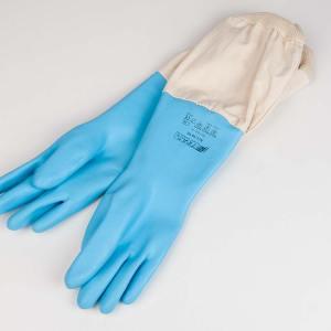 Rubberen latex handschoenen