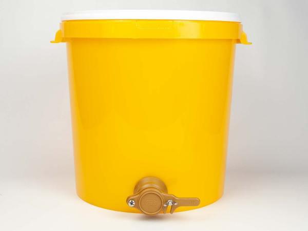 Honingaftapemmer met snijkraan - 40 kg