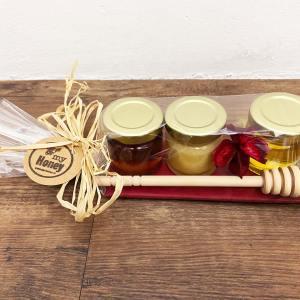 CadeauPakket trio honing met honinglepel
