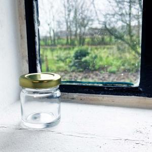 Honingpot rond 41 ml _ 50 gram Toc 43 met deksel – 50 stuks.pg