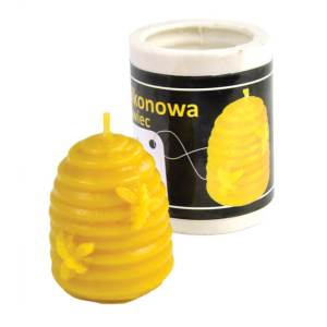 Lyson kaarsen gietvorm - Bijenkorf - hoogte 4.5 cm [F016]
