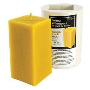 Lyson kaarsen gietvorm - Hoge kubus - hoogte 13.5 cm [FS152]