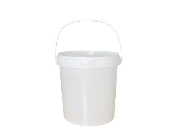 Honingemmer wit met deksel – 4 KG
