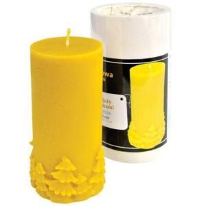 Lyson kaarsen gietvorm – Rond met kerstbomen – hoogte 13 cm [FS26]