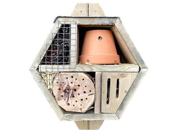 Bijenhotel   insectenhotel zware kwaliteit – type 1
