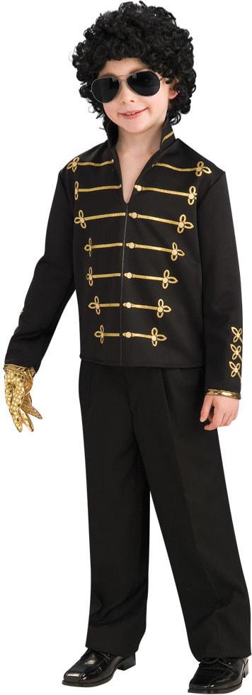 Черный жакет Майкла Джексона детский r884230 купить в ...