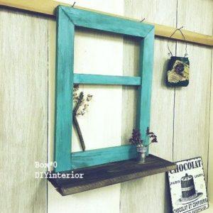 手作り窓枠