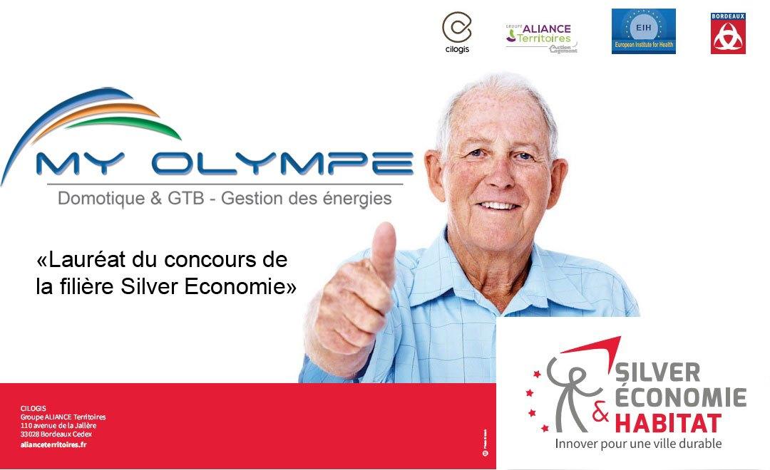 MY OLYMPE sélectionné et invité au 2nd Colloque européen « Silver économie & Habitat »