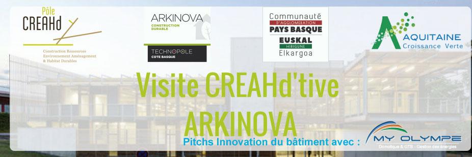 Journée ARKINOVA à ANGLET : pitch innovation !