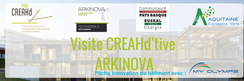 Journée ARKINOVA à ANGLET : pitch innovation !