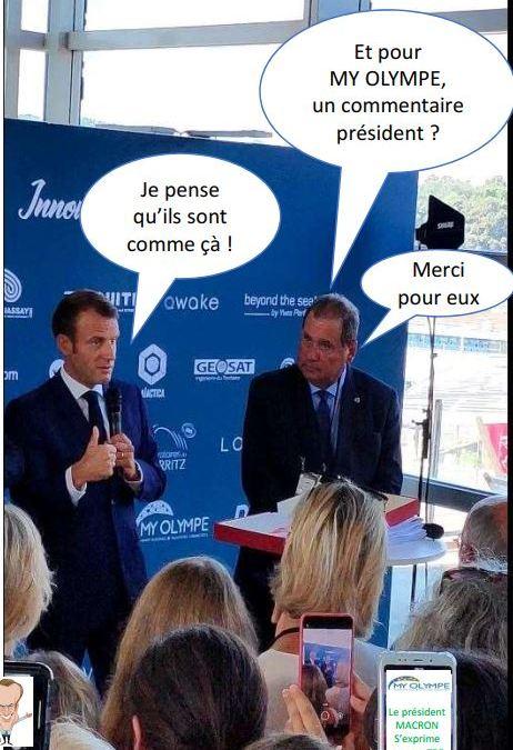 Le G7… vu par MY OLYMPE