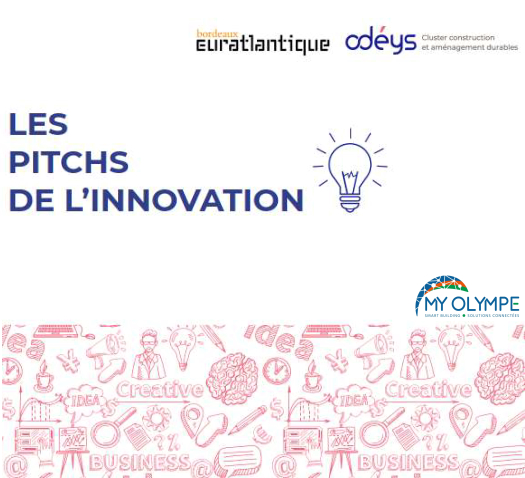 «  Pitch de l'Innovation » Bordeaux Euratlantique -Dec 19