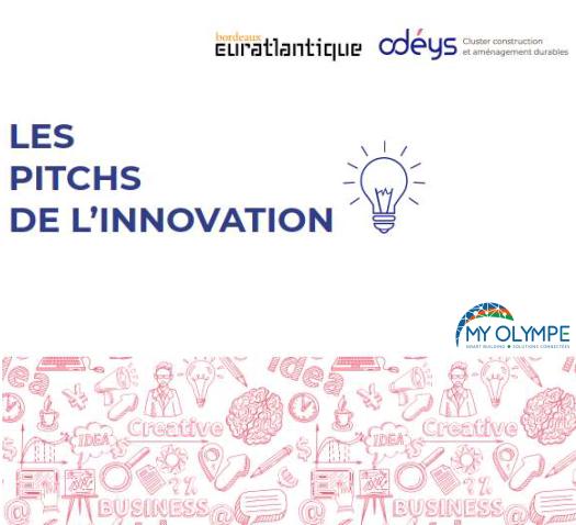 «  Pitch de l'Innovation » Bordeaux Euratlantique -Dec 19