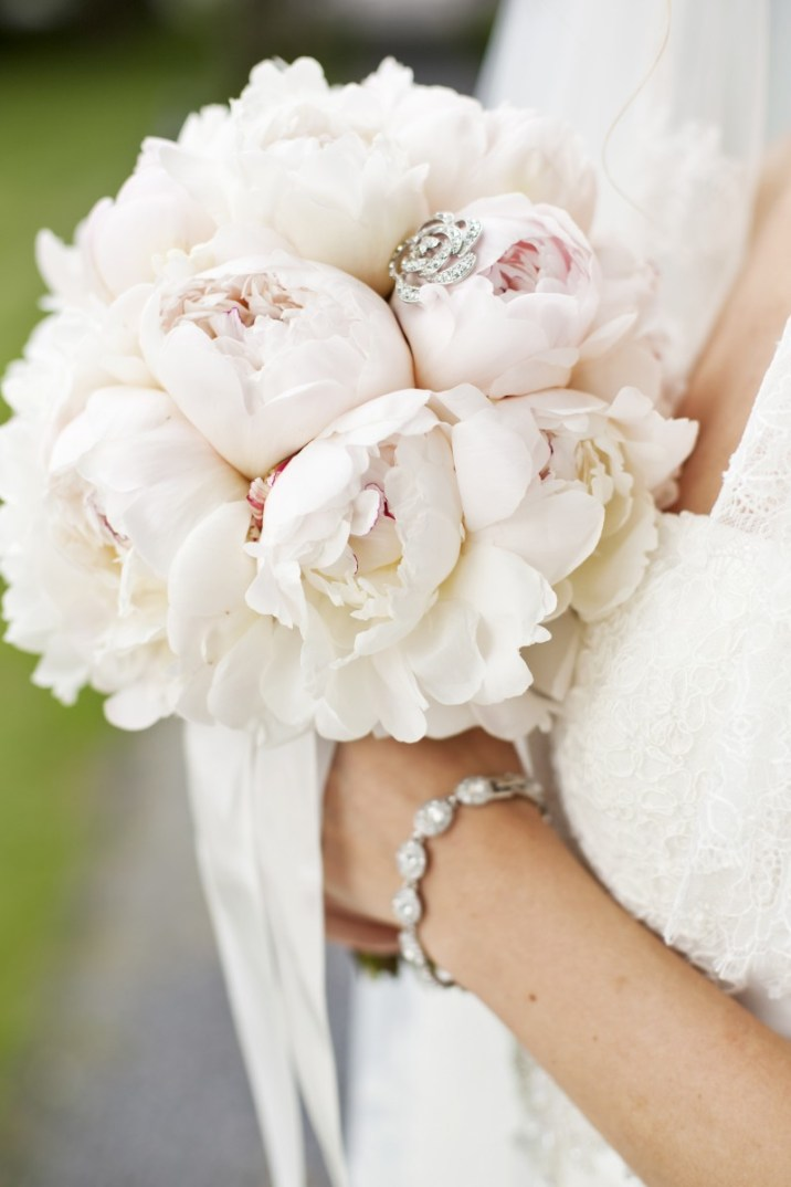 Pfingstrosen, Bridal bouquet, Peonies