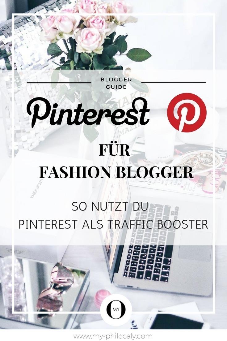 Pinterest Pin - Pinterest für Fashion Blogger - So nutzt du Pinterest als Traffic Booster