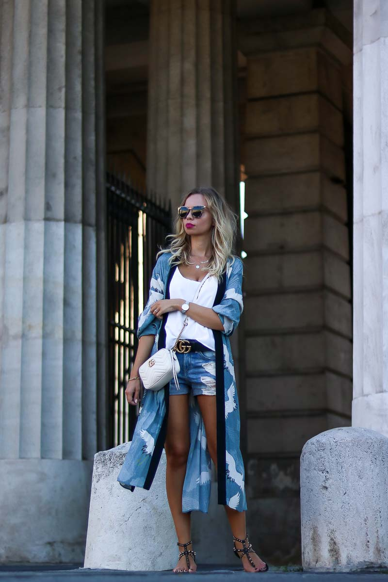 Outfit Casual Kimono Style for Summer