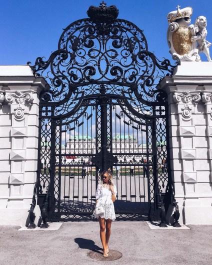 Vienna Travel Guide Belvedere Gate