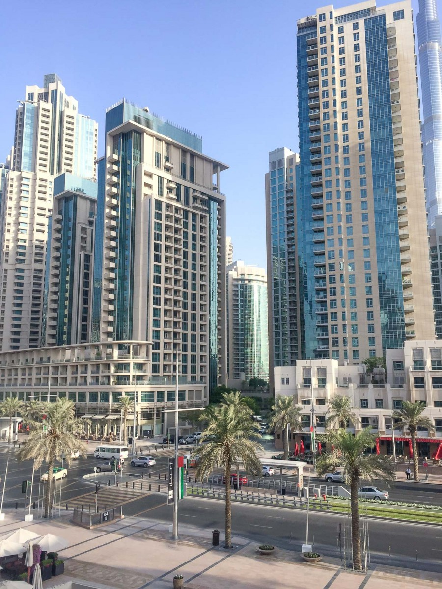 Vida Downtown Dubai View from guest room