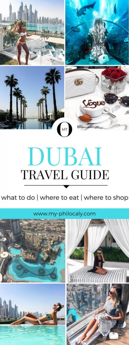 Dubai Travel Guide Pin