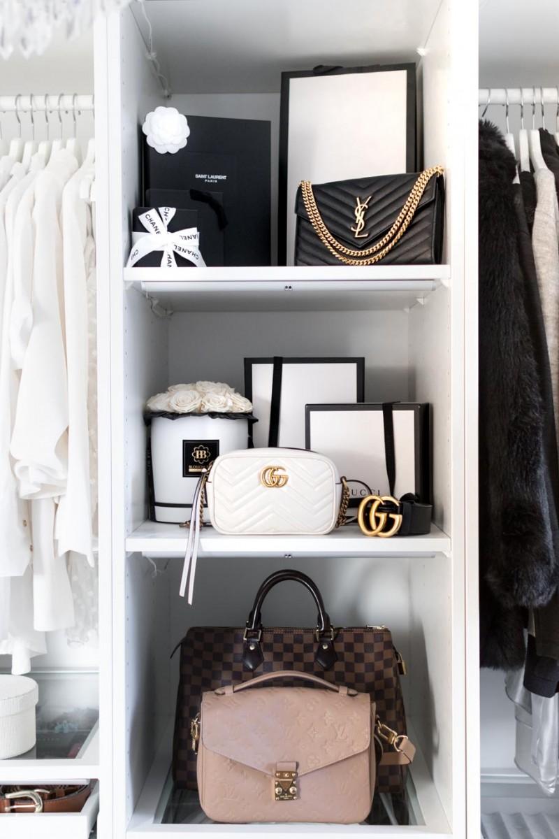 Clean Luxury Bag, Designer Tasche Reinigen, Louis Vuitton Speedy, Gucci Marmont, Louis Vuitton Metis, Saint Laurent Wallet on Chain