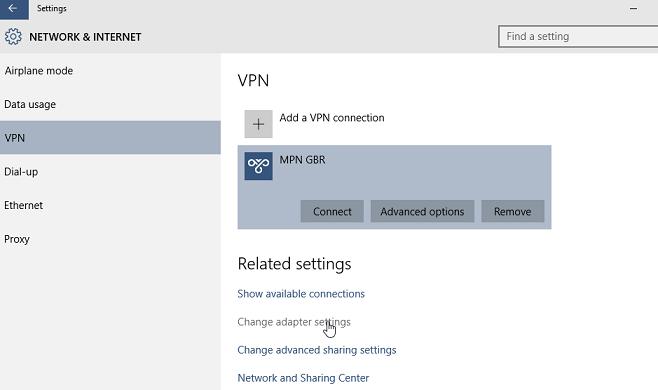 Windows 10 L2TP VPN setup   My Private Network   Global ...