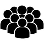 public people icon - Google Search | Free icons, People icon ...