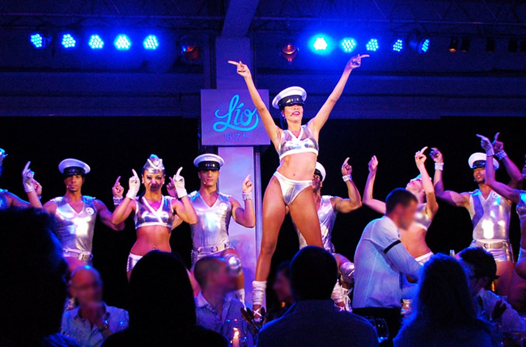 One night of glamour and entertainment at Lio Restaurant, Ibiza