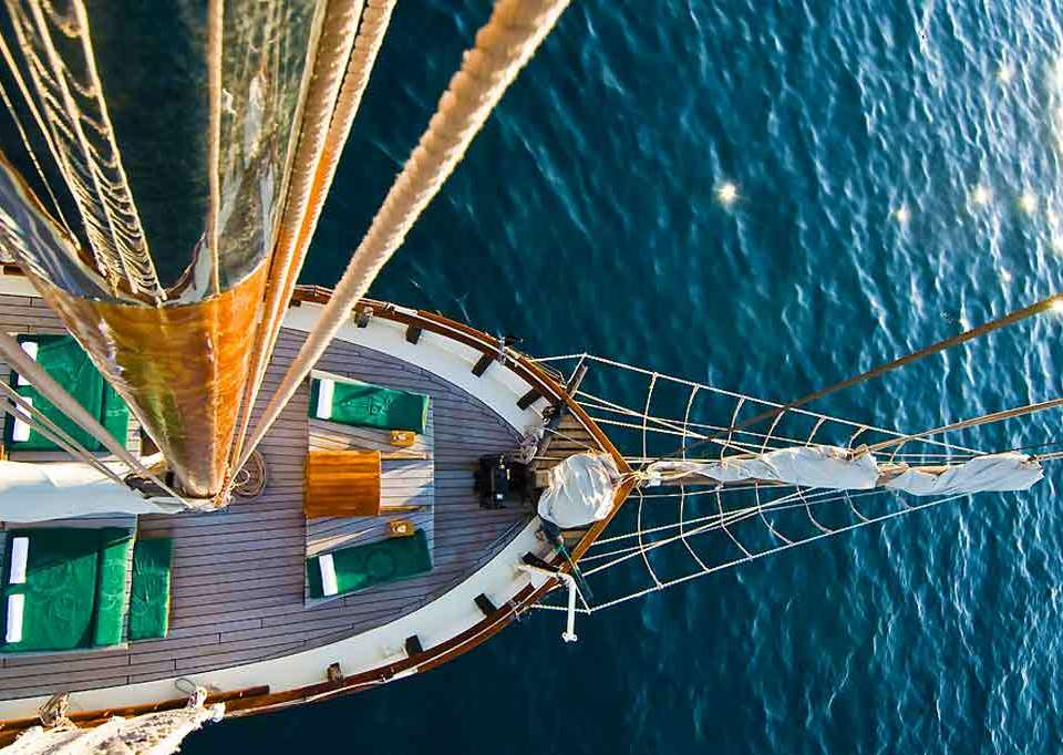 Sail along Sorrento Coast