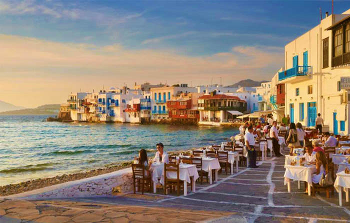 What to visit in Mykonos: Little Venice