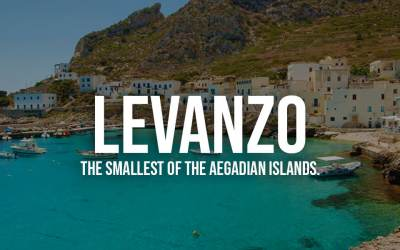 Levanzo, the Smallest Of The Aegadian Islands.
