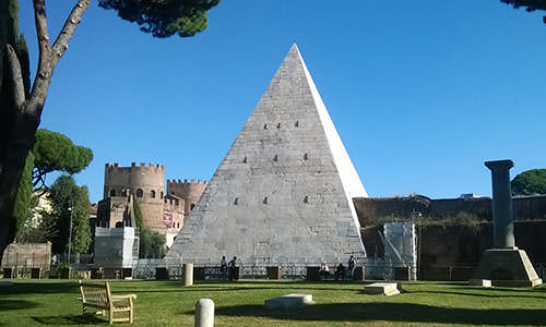 The Pyramid of Rome