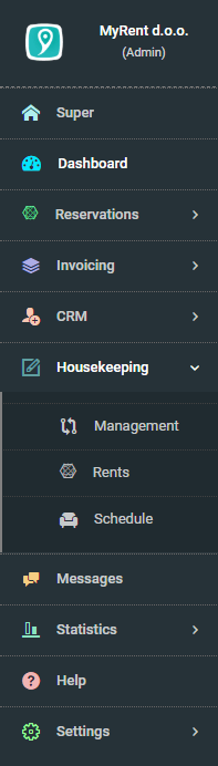 myrent_menu_screen_cap_housekeeping