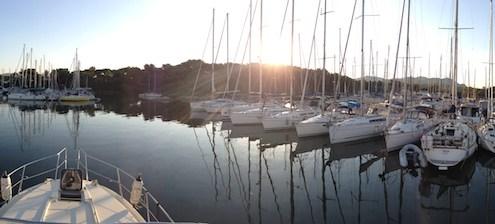 Ile des Embiez - Port de plaisance - voiliers