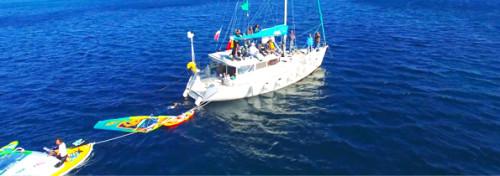 location voilier habitable atoll 43 dufour evenement EFE bateau comite var région paca