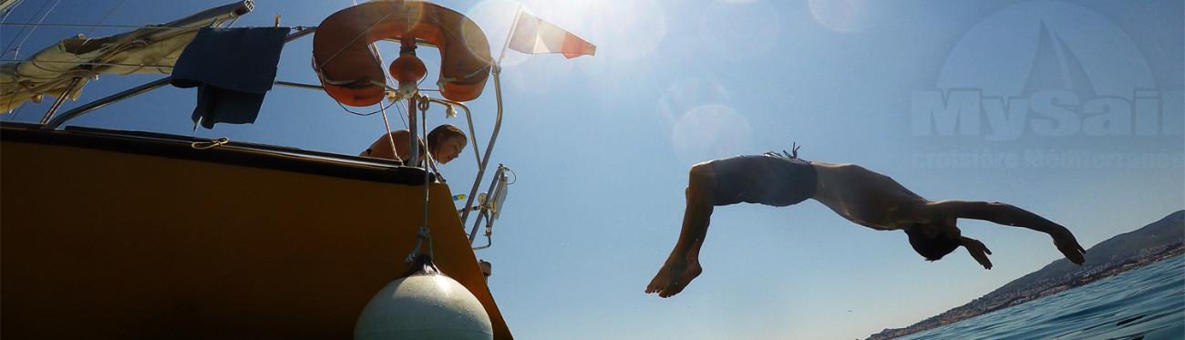Location Voilier Bateau Var – Promenade Balade En Mer – Croisière à La Carte – My Sail croisière Méditerranée - VOILIER SUPER CHALLENGER MK3 BAIGNADE ARCHIPEL DES EMBIEZ