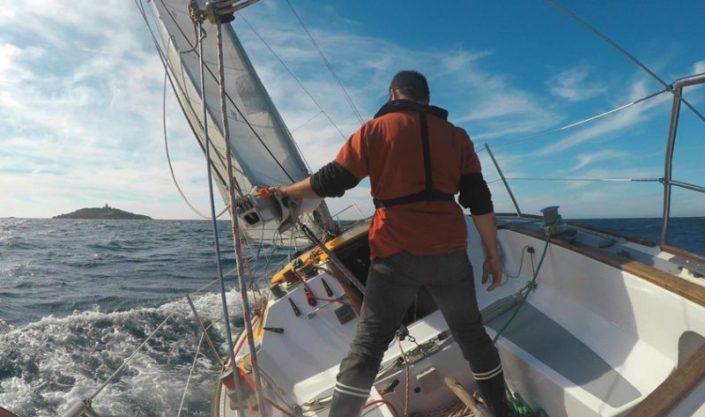 location voilier bateau var promenade balade en mer croisiere a la carte avec skipper provence cote azur bandol la seyne coucher de soleil my sail croisiere mediterranee