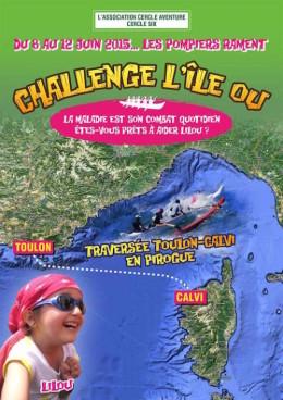 Traversée Toulon Calvi en pirogues va'a Ono pour Lilou