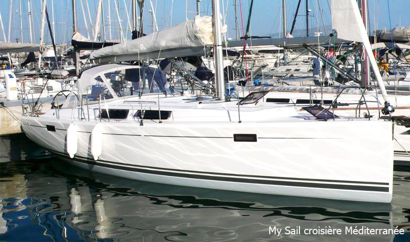 Location Voilier Bateau Marseille Promenade Balade En Mer Croisiere a La Carte My Sail Mediterranee hanse 385