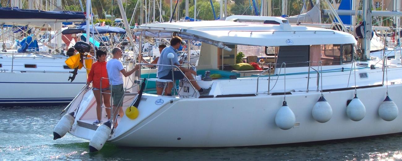 location voilier padishah atoll 43 dans le var avec skipper