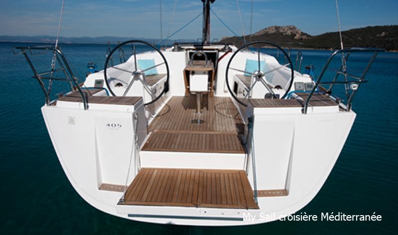 location monocoque voilier dufour 405 grand large a marseille croisiere port pointe rouge calanques frioul