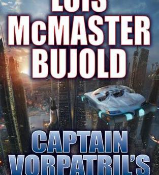 "Cover of first edition hardcover release of ""Captail Vorpatril's Alliance""."