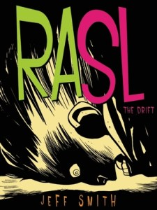Cover of the first volume of RASL.