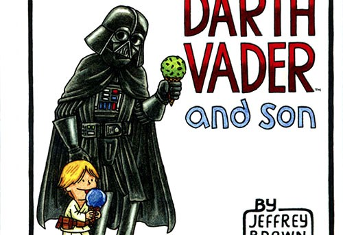 Darth Vader and Son by Jeffrey Brown - picture book review
