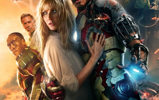 """Theatrical poster for """"Iron Man 3""""."""