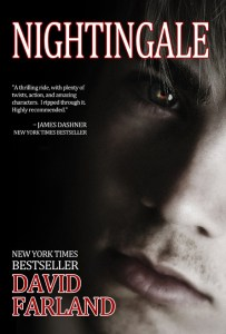 "Hardcover of ""Nightingale"" by David Farland."