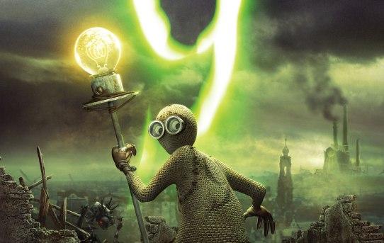 """Poster for Shane Acker's animated film """"9""""."""