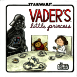 "Cover of ""Vader's Little Princess"" by Jeffrey Brown."