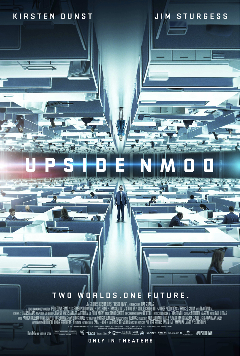 """Theatrical poster for """"Upside Down""""."""